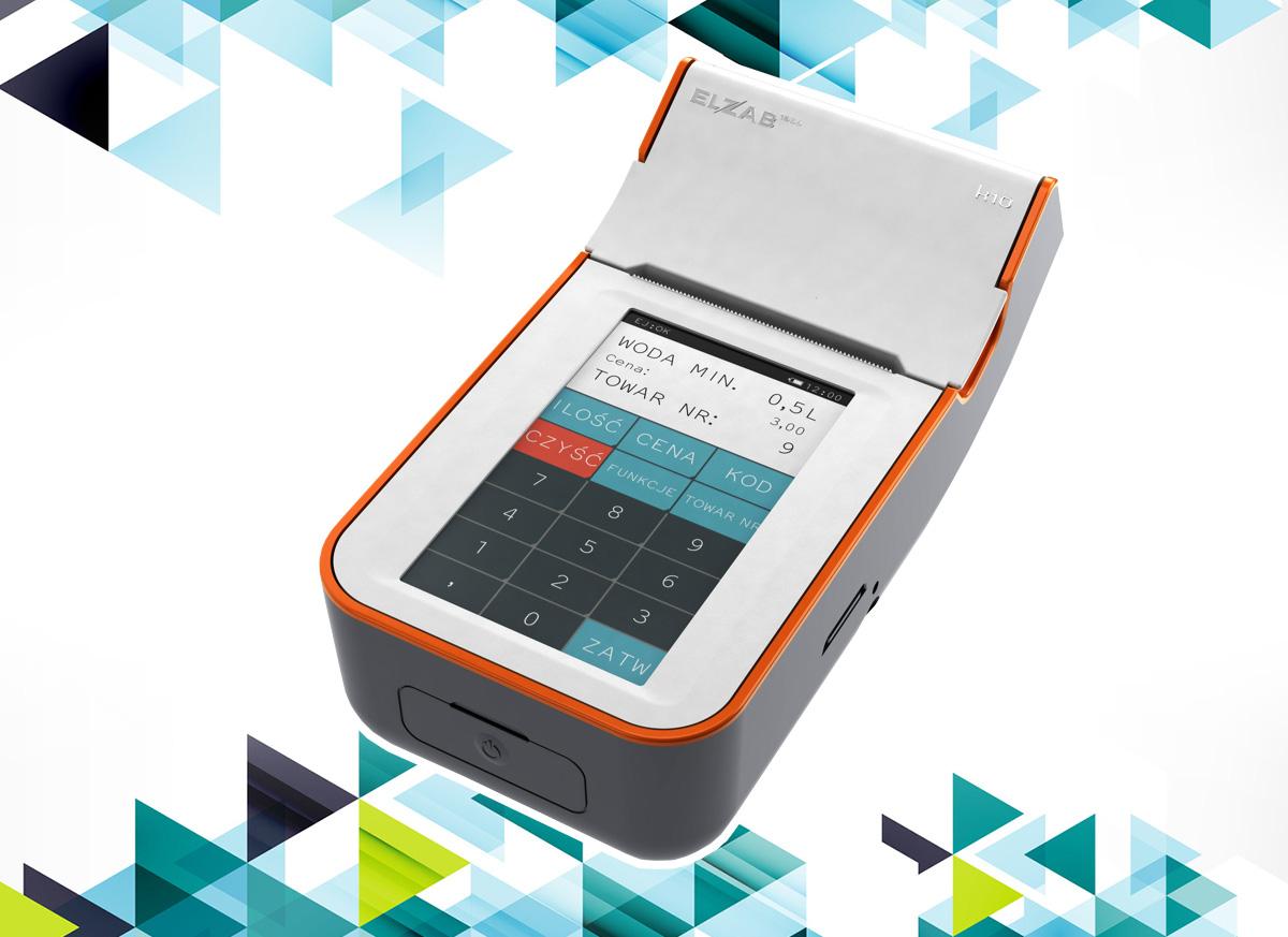 Elzab K10 – co oferuje ekran dotykowy w kasie fiskalnej?