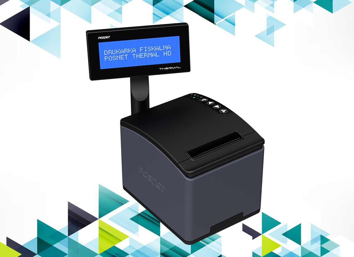 Thermal HD – wydajna drukarka marki Posnet